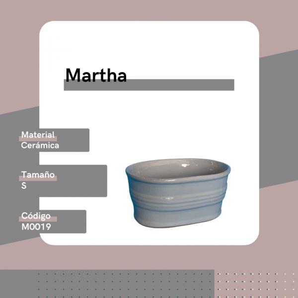 M0019 Maceta Martha Cerámica Replanto