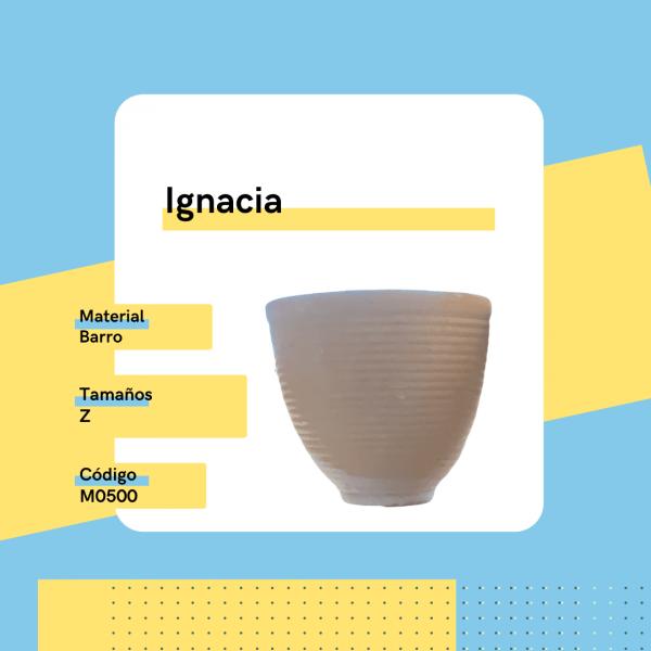 M0500 Maceta Ignacia Barro Replanto